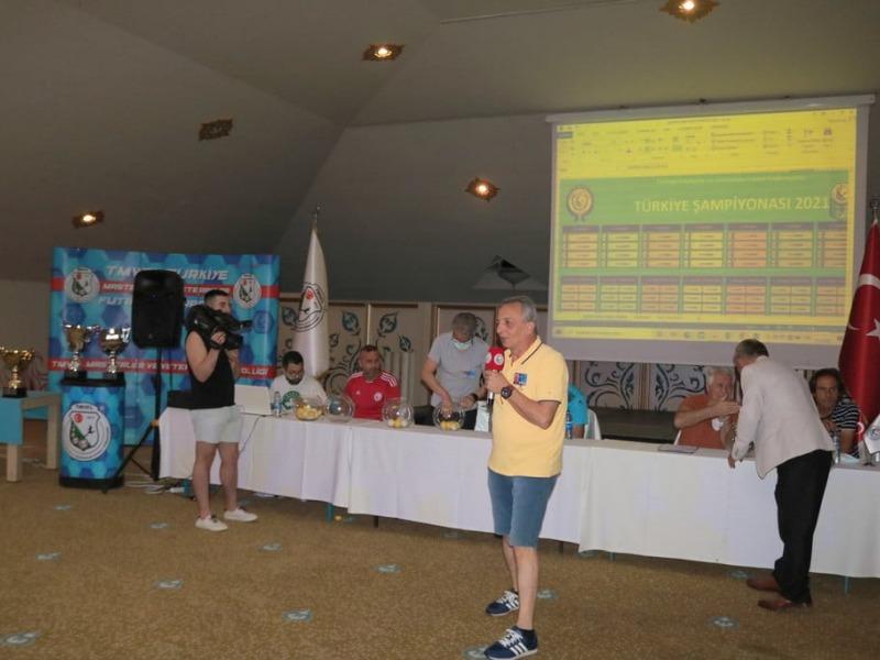 TMVFL 2021 Türkiye şampiyonasında kura heyecanı