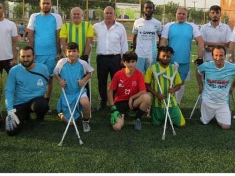 Ş.Urfa ASKF başkanı Eyyübiye Ampute takımını ziyaret etti