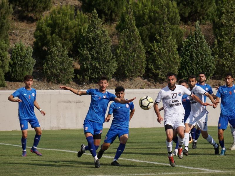 Gaziantep Ankasspor şampiyonluğunu erteledi