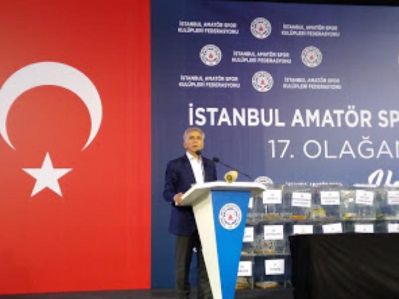 Ali Düşmez bir kez daha İASKF Başkan'ı seçildi