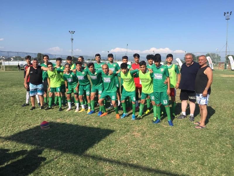 Besni Akınspor U-16 takımı Avrupa Şampiyonluğuna uzandı