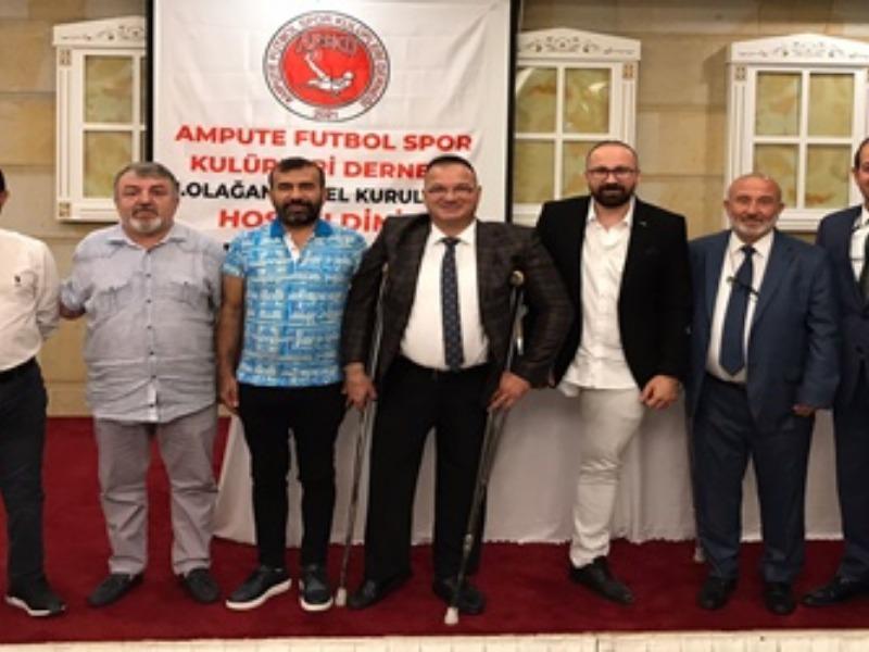 Ampute Futbol Spor Kulüpleri ilk kongresini Konya'da yaptı