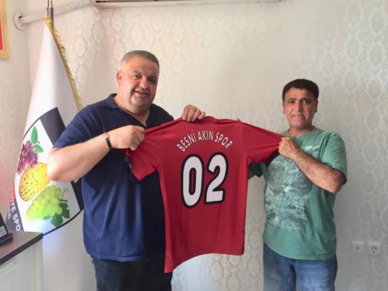 Besni Akınspor'a destek sözünü unutmadı