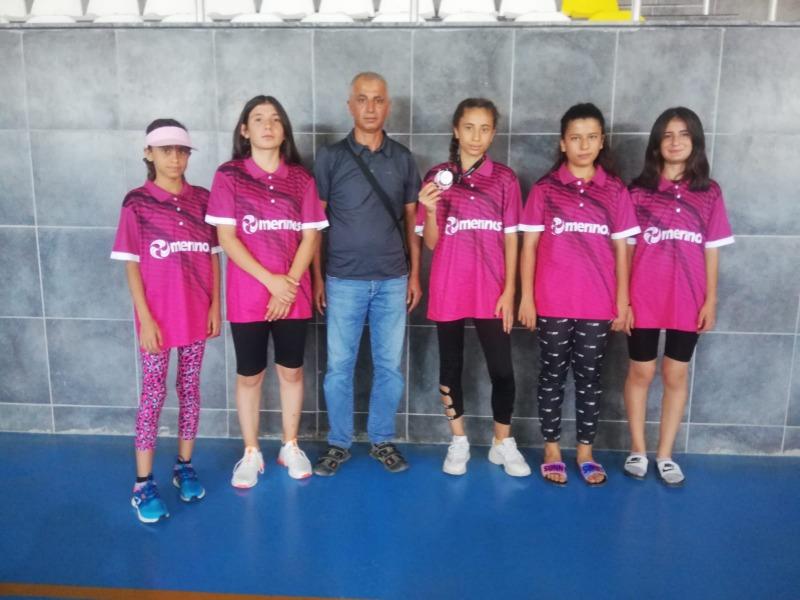 Besni Gençlik ve Spor Kulübü Aleyna Erdem zirveye ulaştı