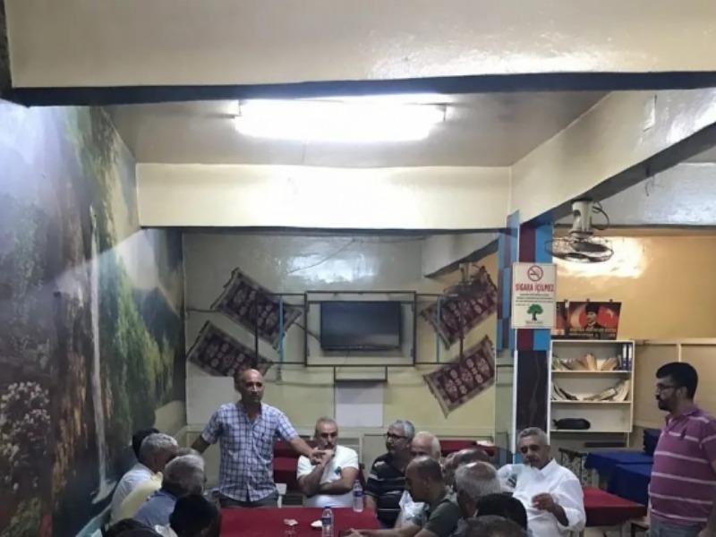 Gaziantep Mahalli kulüplerinden AK Parti ilçe Başkanı'nı ziyaret etti
