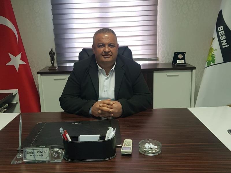Besni Akınspor Başkan'ı Doğan Ciner 30 Ağustos Zafer Bayram'ı kutlu olsun