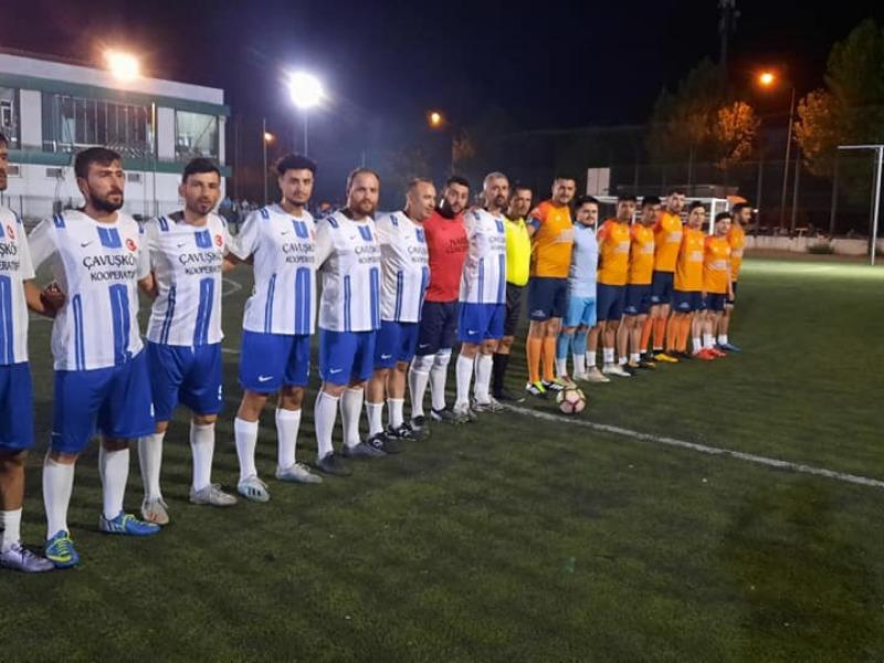 Köylerarası futbol turnuvasında ilk finalist belli