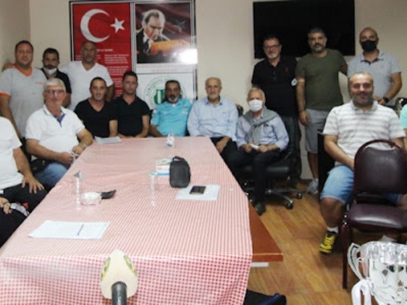 Kelle İbrahim futbol turnuvası 2021 için kura çekimi gerçekleşti